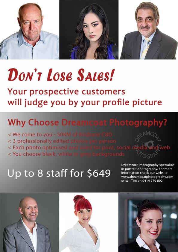 Portrait Studio Photo Prices | Dreamcoat Photography